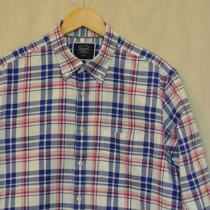 Charles Tyrwhitt Button Down Shirt Slim Fit L